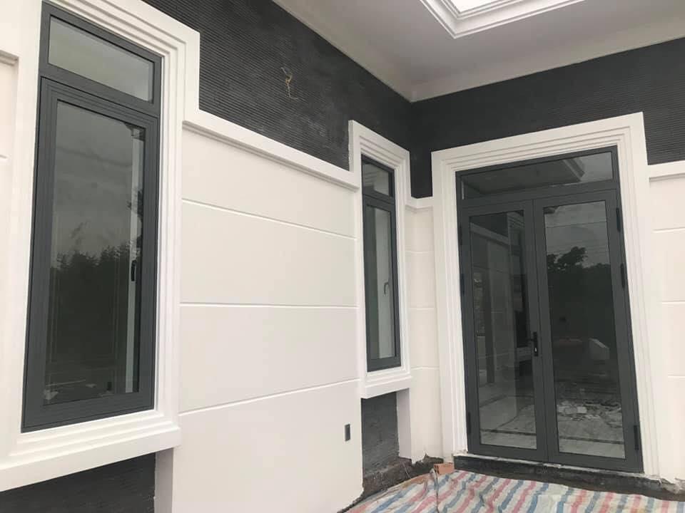 cửa sắt giả nhôm 1 cánh,2 cánh cửa sổ