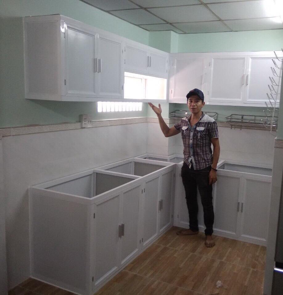 Làm tủ nhôm bếp,tủ bếp đẹp
