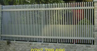 Hàng rào sắt bảo vệ