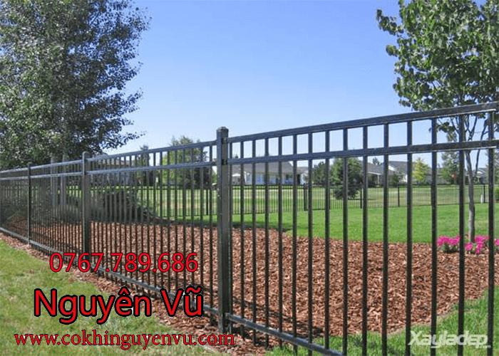 Dịch vụ làm hàng rào sắt