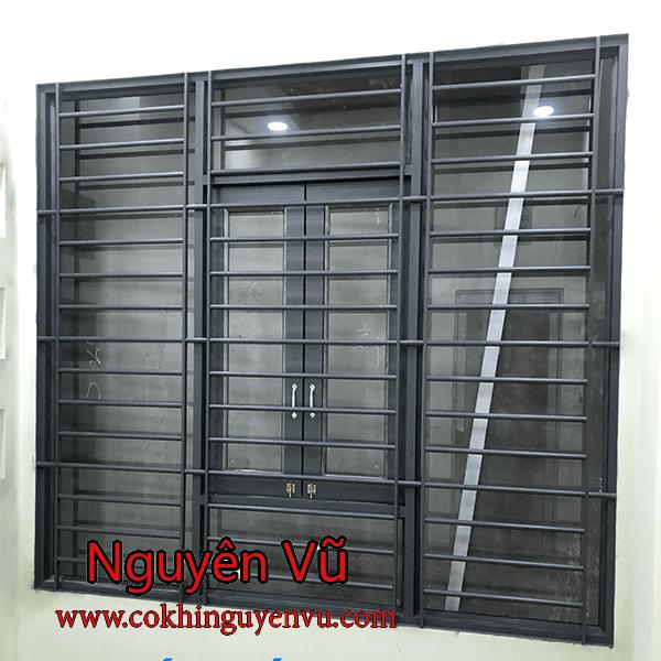 Mẫu khung bảo vệ cửa sổ