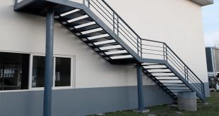 Cầu thang thoát hiểm ngoài trời