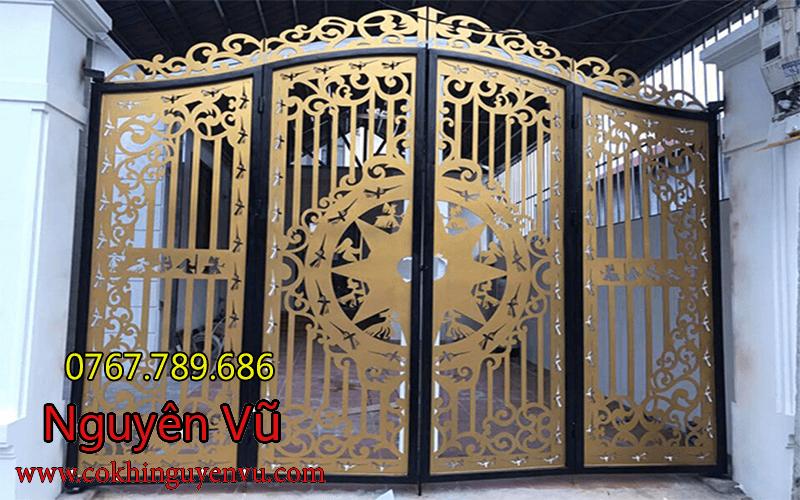 Cửa cổng cnc đẹp tại TPHCM