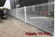Làm hàng rào sắt bảo vệ chung cư