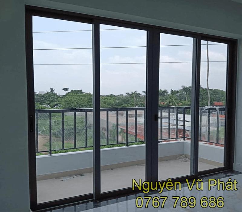 Cửa nhôm kính Xingfa tại Bàu Bàng