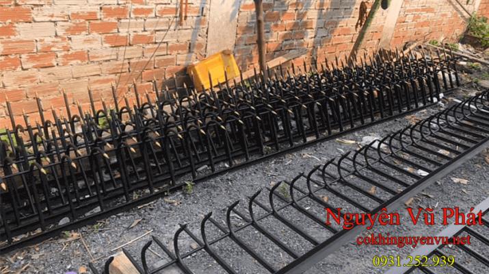 Chông sắt hàng rào giá rẻ