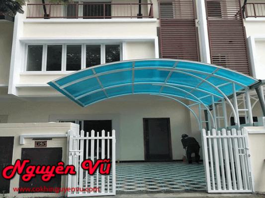 Mái poly mái vòm tại Biên Hòa