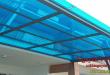 Lắp đặt mái poly lấy sáng tại Tân Uyên