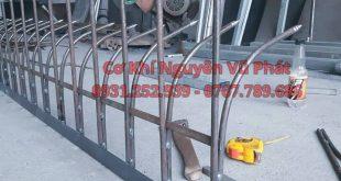 Hàng rào chông sắt giá rẻ tại tân uyên