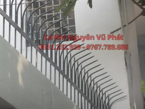 Dịch vụ làm hàng rào sắt chông sắt đẹp tại Thủ Dầu Một