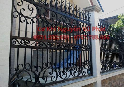 lắp đặt hàng rào sắt nghệ thuật tại TPThủ Dầu Một