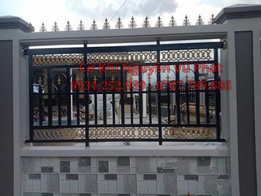 Dịch vụ làm hàng rào sắt mỹ thuật đẹp tại Dĩ An